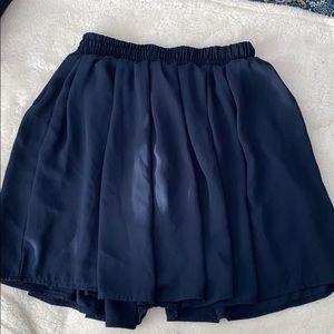 Brandy Melville Navy Skirt